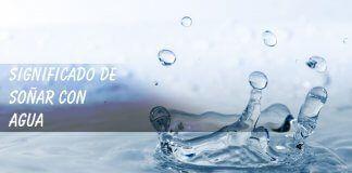 Soñar con agua