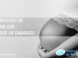 Soñar con perder un embarazo