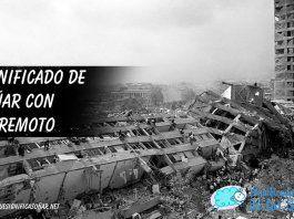 Soñar con terremoto